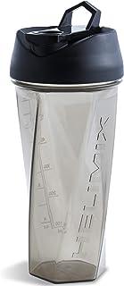 Helimix Vortex Blender Shaker Bottle 28oz | No Blending Ball or Whisk | USA Made | Portable Pre Workout Whey Protein Drink...