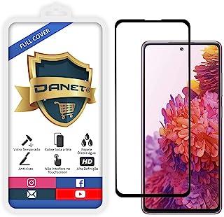 """Película De Vidro Temperado 3D Full Cover Para Samsung Galaxy S20 FE com Tela de 6.5"""" Polegadas - Proteção Blindada Top Pr..."""