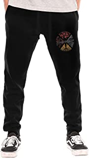 Game of Thrones Four Houses Circle Men's Open-Bottom Sweatpants with Pockets