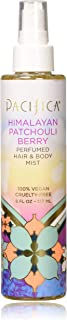 Pacifica Beauty Perfumed Hair & Body Mist, Himalayan Patchouli Berry, 6 Fl Oz (1 Count)