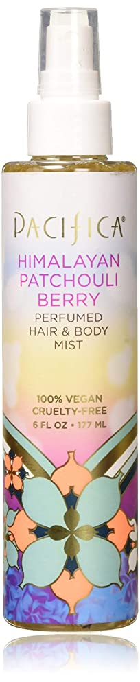 Pacifica Beauty Perfumed Hair & Body Mist, Himalayan Patchouli Berry, 6 Fluid Ounce
