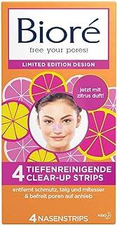 Bioré Dieptereiniging Clear-Up-Strips - Neusstrips - Citrus Limited Edition, 100 g