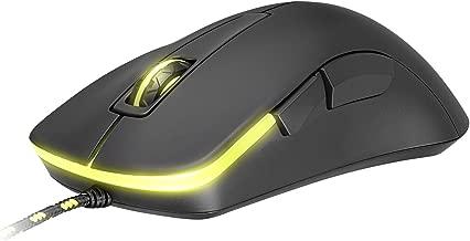 XTRFY M3 Ergonomic Wired Optical Gaming Mouse, 5 Buttons, Adjustable CPI, Low Friction Teflon, Pixart PMW 3310 Sensor