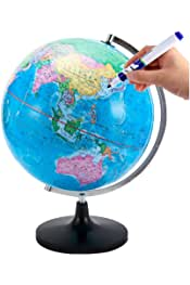Egosy Cork Globe Mini Cork Globe Captura Tus Aventuras de Viaje y Recuerdos Globe Cork para marcar