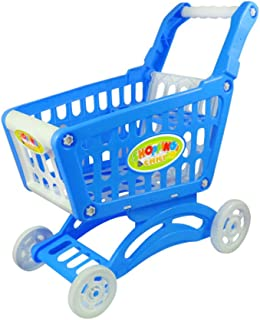 Children's Simulation Supermarket Shopping Cart Toys Gifts,W2
