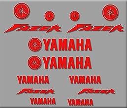 Ecoshirt 1Z-MRVY-EJE0 Autocollants Fazer R314 Stickers Autocollants Moto GP Rouge
