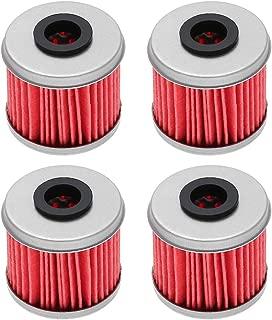 Nrpfell Carcasa del Filtro de Aceite y Enfriador Negro Apta para 03L 115389 B//C//G//H Conjunto del Filtro de Aceite para A3 A4 para Seat 1.6 2.0 TDI Negro