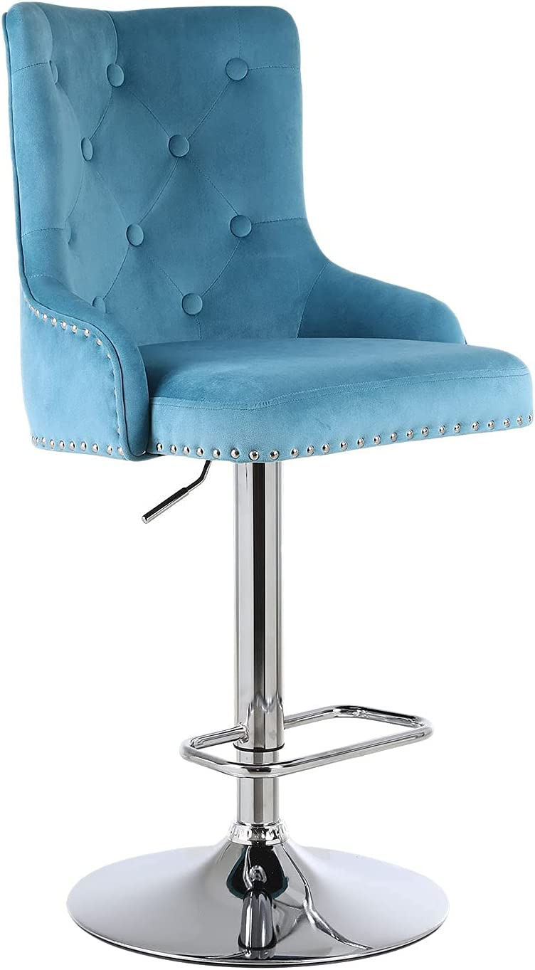 Bar Stool Adjustable Counter Fees free Chair Duty w Base Jacksonville Mall Footr Heavy