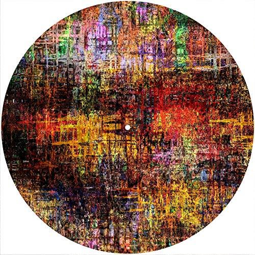 Texture 10 Slipmat Rutschmatte für jeden 30,5 cm LP DJ Vinyl Plattenspieler Custom Graphical