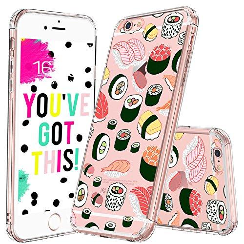 reputable site c04d3 4f9a4 Amazon.com: MOSNOVO iPhone 6S Case/iPhone 6 Case, Cute Sushi Clear ...