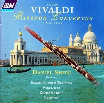 Vivaldi: Bassoon Concertos Vol.3