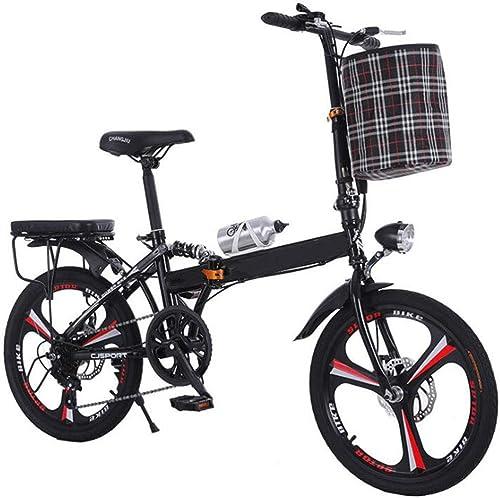 Todo en alta calidad y bajo precio. Bicicleta de aleación de aluminio bicicleta ultraligera plegadora cambio cambio cambio de frenos de disco bicicleta Pequeña adecuada para carreteras de Montaña y carreteras de lluvia y nieve Esta bicicleta es plega  primera vez respuesta