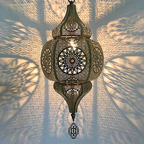 Araña de interior, luces de techo, lámparas turcas, luces de mosaico colgantes, colgante, linterna de estilo marroquí