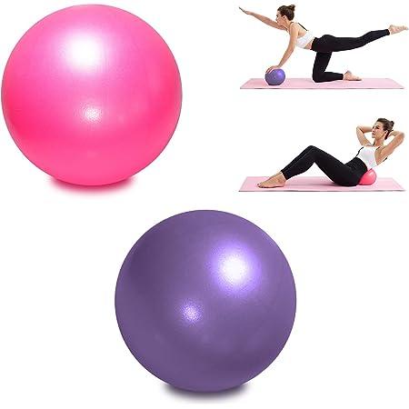 de Hip-Ball 25 cm Leikance Balle de Yoga en PVC d/équilibre Mini Ballon de Fitness de Yoga