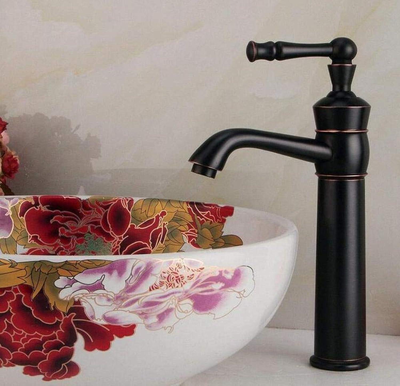 Retro Wasserhahn Schwarz Bronze Bad Becken Küche Aufsatzbecken Waschbecken Wasserhahn