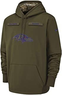 Baltimore Ravens 2018 Men's NFL Salute to Service Hoody