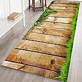 Teppichmatte, rutschfest, groß und gestreift, für Wohnzimmer, Schlafzimmer, Flur, Küche, Textil, h, 60x180cm/2x6ft