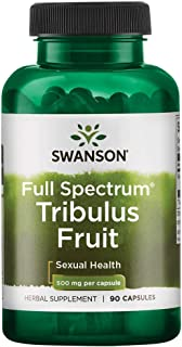 Swanson Full-Spectrum Tribulus Fruit 500 Milligrams 90 Capsules