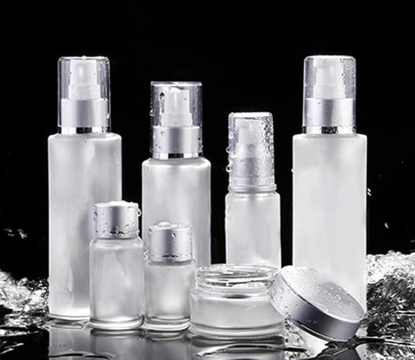 メトロポリタンバリケード正確さShopXJ 化粧水 容器 スプレー 詰め替え 携帯 ボトル プッシュ ボトル 旅行 お出かけ 外泊に (20ml)
