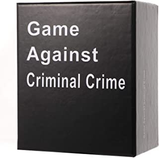 Game Against Criminal Crime Edition with 311 Cards - A New Party Game for Adult