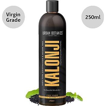 UrbanBotanics Cold Pressed Kalonji Oil - Virgin Grade - Black Seed Oil - Nigella Sativa - 250ml