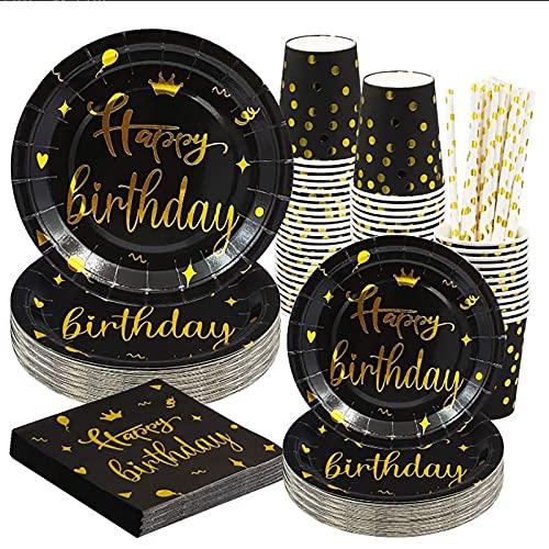 SHENGYANG ,Platos Plastico Duro, vajilla de Fiesta, Platos de Fiesta de cumpleaños, Paquete de 10