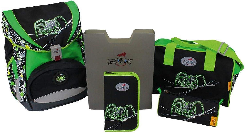 nuevo estilo DerDieDas - - - Set de útiles Escolares verde verde Negro  primera reputación de los clientes primero