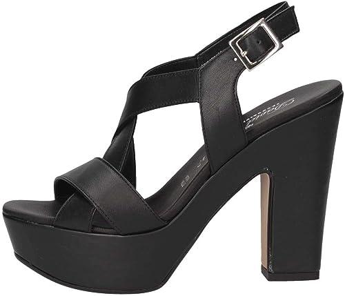 David Haron 810 F20S noir noir noir Sandales Femme e47