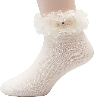 ivory communion socks