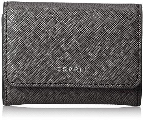 ESPRIT Damen 127ea1v020 Geldbörse, Schwarz (Black), 1x7,5x10,5 cm