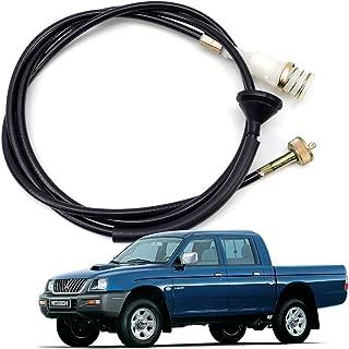 Nonstops Speedo Meter Cable Speedometer for Mitsubishi L200 Strada 2.8 4WD K74 1996 2005 1x1x200 cm Black