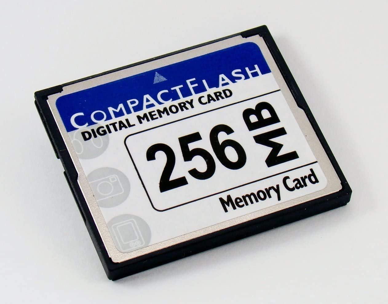 CompactFlash Memory Card 256MB for CNC Machine Tool Camera CF Card