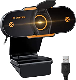 Cheelom Video Cámara Web1080P Full HD USB,Webcam de Confere