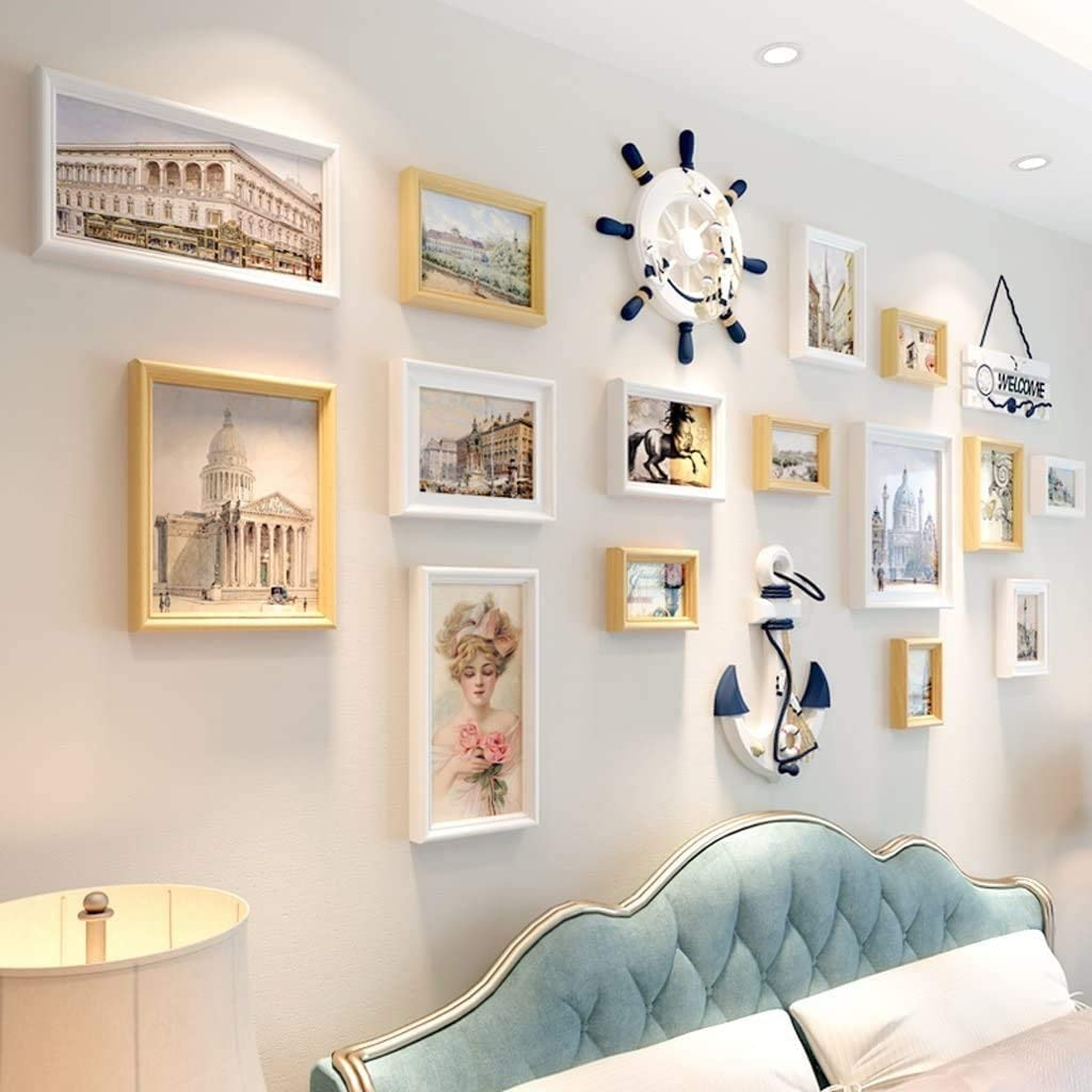 Ranking TOP20 Home Living Room Wall Limited price Hanging Gallery Photo Kit Combination