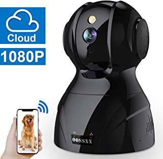 Wireless 1080P Security Surveillance Camera,HD Home Indoor IP Camera with Two-Way Audio/PTZ for Baby/Elder/Pet Monitor