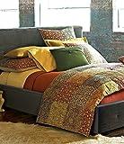 Noble Excellence Villa Raj Patchwork Euro Pillow Sham