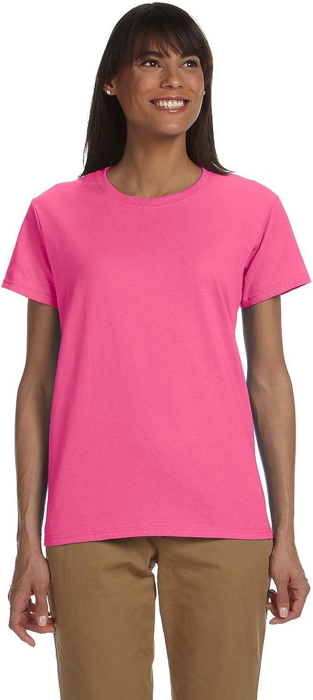 Gildan Womens 6.1 oz. Ultra Cotton TShirt (G200L) SAFETY PIN 2XL12PK