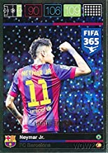 2016 Panini Adrenalyn XL FIFA 365 EXCLUSIVE Neymar Jr. Limited Edition Card! Rare Awesome Special Great Looking Card Imported from Europe! Shipped in Ultra Pro Top Loader to Protect it !