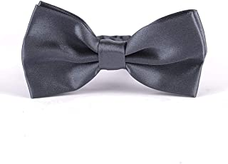"Pre-Tied 2.6"" Knot Tuxedo Polyester Bow Tie in a Gift Box for Men"