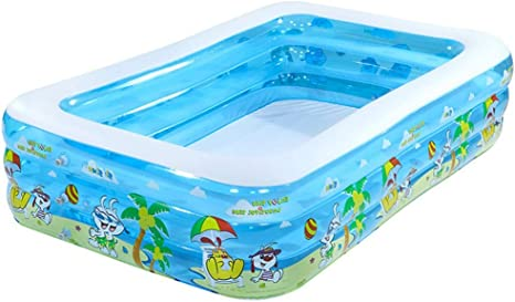 Inflatable Swimming Pool Family Super Large Marine Ball Pool Thickening Home Large Adult Paddling Pool Grateful For Everything Color C Amazon Ca Home Kitchen