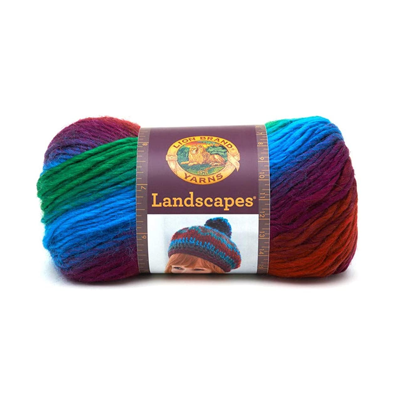Paracord Planet Landscapes Yarn – 147 Yards – Made with Acrylic Fibers – Knitting Crochet Apparel