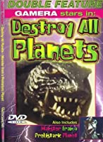 Destroy all Planets / Monster from a Prehistoric Planet -- DOUBLE FEATURE dvd REMASTERED