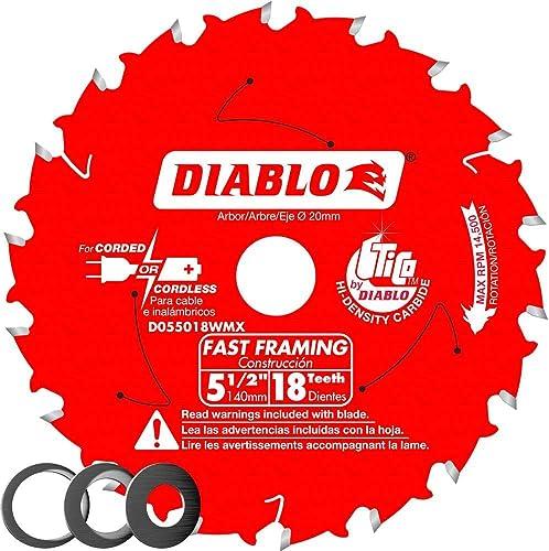wholesale Freud-Diablo popular sale DB 5-1/2 X 18T Wood CSB MB, D055018WMX online sale