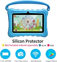 $45 Get Kids Tablets pc 7 Inch Android Quad Core Tablet for Kids Learning Tablet with WiFi Dual Camera IPS Safety Eye Protection Screen 1GB 8GB Storage