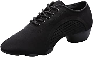 Women's Modern Jazz Soft Split Sole Dance Trainers Shoes Sport Sneaker