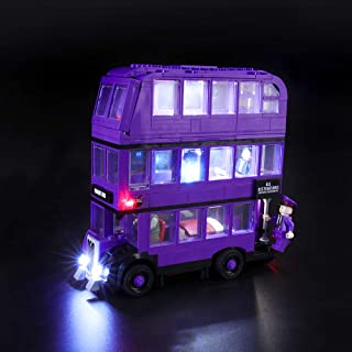 BRIKSMAX Led Lighting Kit for Harry Potter The Knight Bus - Compatible with Lego 75957 Building Blocks Model- Not Include The Lego Set