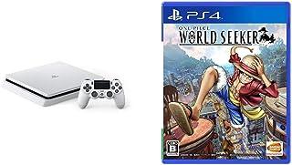 PlayStation 4 グレイシャー・ホワイト 500GB (CUH-2200AB02) + ONE PIECE WORLD SEEKER セット