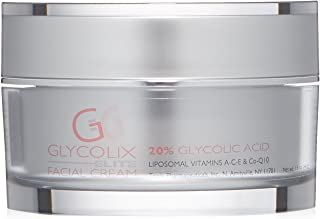 Glycolix Elite Glycolic Acid Exfoliating Facial Cream 1.6 Oz