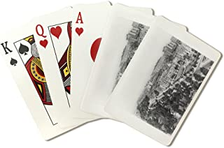 Bird's-Eye View of Riverside Drive NYC Photo (Playing Card Deck - 52 Card Poker Size with Jokers)