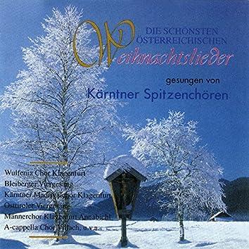 Die schönsten Österreichischen Weihnachtslieder gesungen von Kärntner Spitzenchören